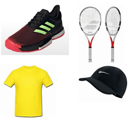 TAG- Tennis Gears and Equipment
